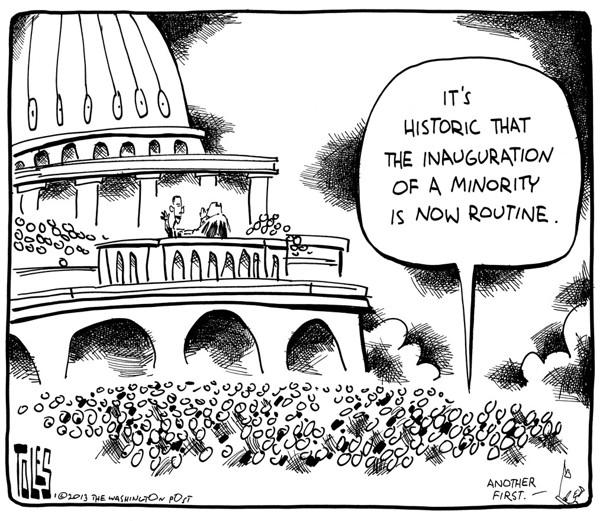 It's historic …
