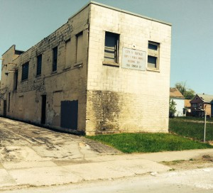 Nearly a ton of ignitable hazardous waste has been improperly stored in this building for more than a decade.