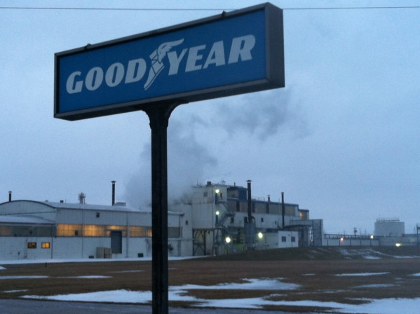 The Goodyear plant off 56th St.