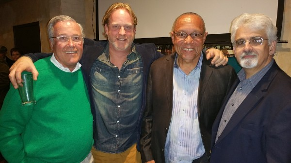 (left to right) Rocco Termini, Newell Nussbaumer, Henry Davis and Jim Heaney.