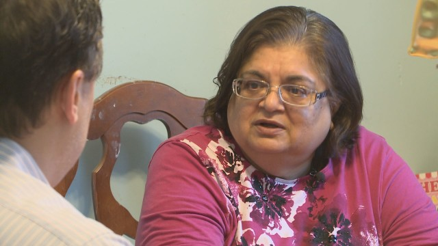 Varsha Kraus said she feels like she is living the nightmare of Love Canal all over again.