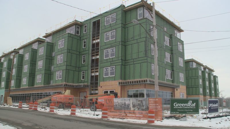 Greenleaf's Campus Walk One opens this fall.