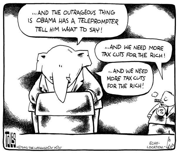 The outrageous thing …