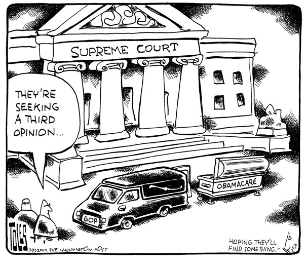 Seeking a third opinion …