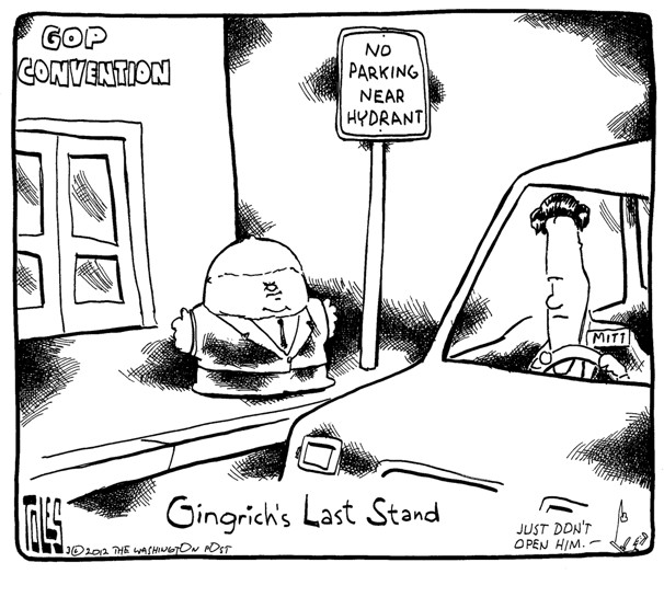 Gingrich's Last Stand …