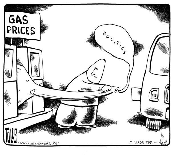Gas prices …